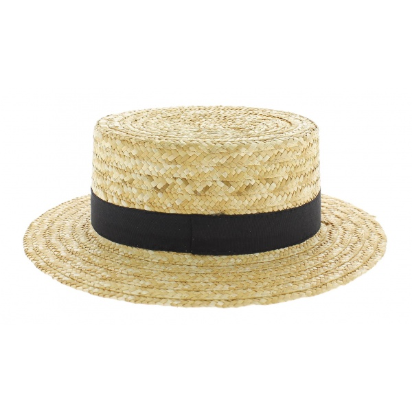 Parmi les chapeaux Traclet, le beau Canotier français ….