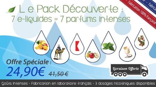 Exclusivité Web Ipclop : des packs d'e-liquide multi-saveurs à tout petits prix…