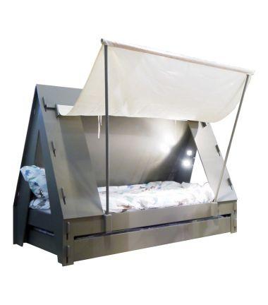 Le lit tente : un meuble d'enfant Ma Chambramoi très original.