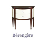 Larger items such as this Louis XVI chest of drawers model offer more extensive storage capacity than console tables,