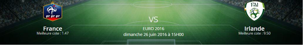 Pronostic France Irlande