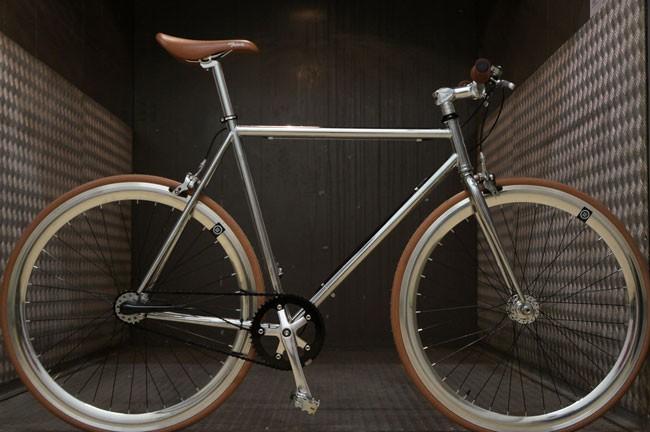 Les différentes pièces du vélo fixie
