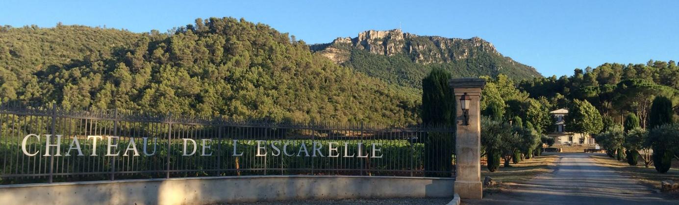 Château de l'Escarelle : du vin rosé de Provence des plus primés