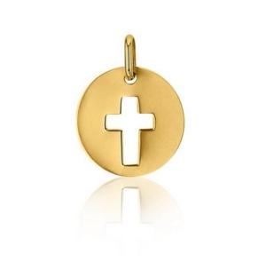 Pendentif croix en or – SANCTIS