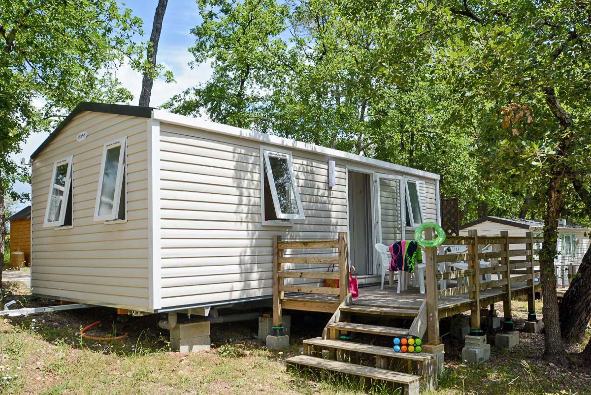 Le Parc : camping du Var avec mobil-home