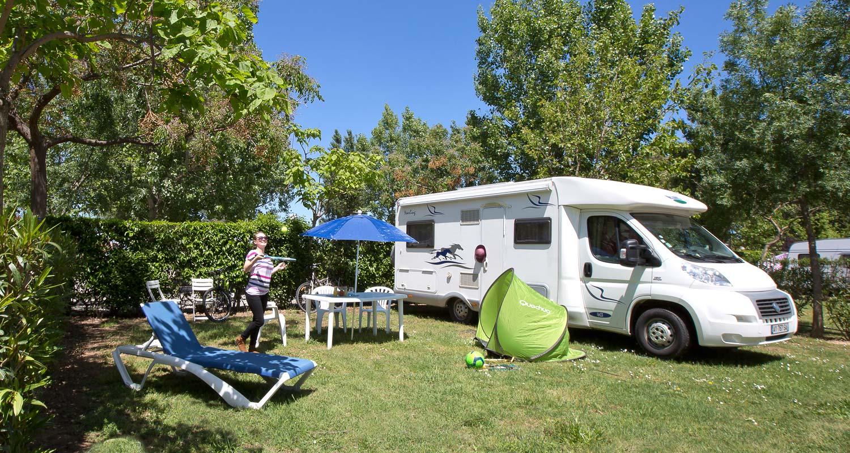 Votre emplacement de camping-car proche d'Argelès ouvert toute l'année – Le Florida